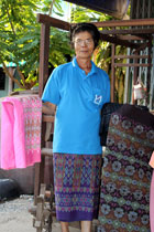 Hand made Thai Cotton and Silk